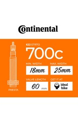 Continental Continental Presta Tube 700c different sizes inner tube