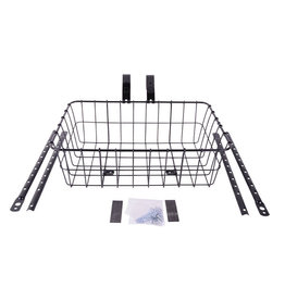 Wald 1372 Front Basket, Gloss Black