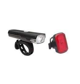 BLACKBURN DAYBLAZER 400  CLICK ON AND USB CHARGEBLE LIGHT SET