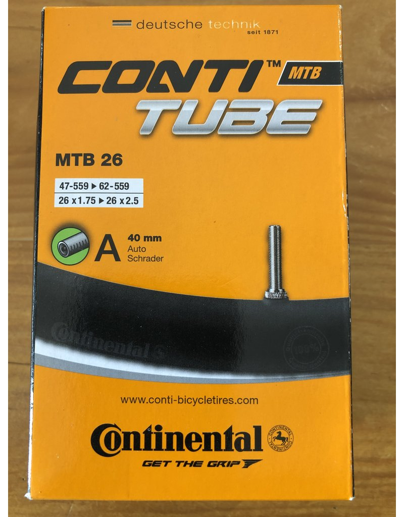 Continental CONTINENTAL SCHRADER ASSORTED SIZES INNER TUBES