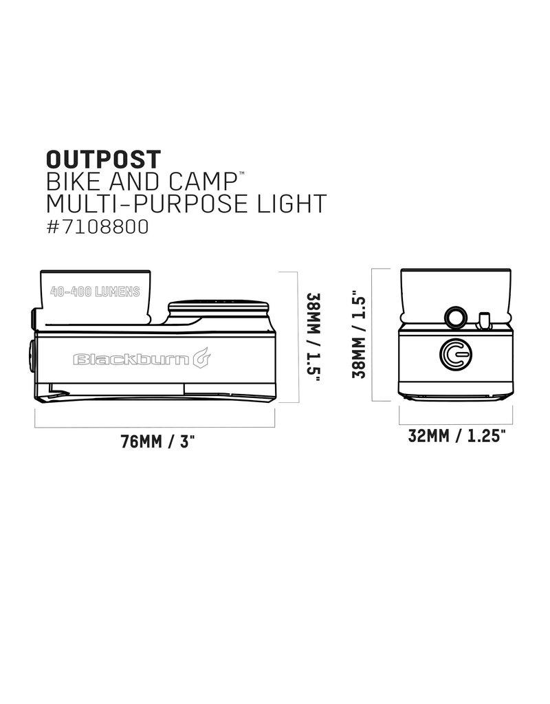 Blackburn BLACKBURN OUTPOST BIKE & CAMP LIGHT