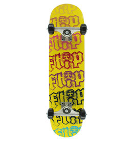 FLIP TEAM HKD SPECTRUM YELLOW SKATEBOARD