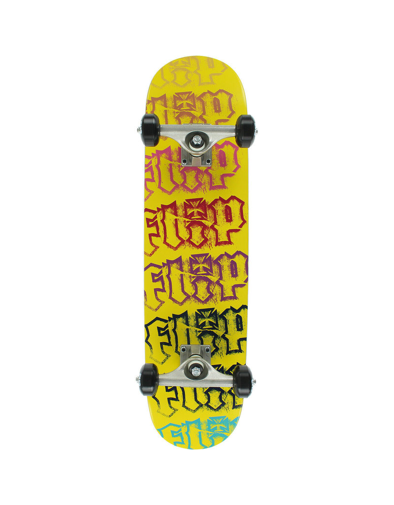 FLIP TEAM HKD SPECTRUM YELLOW SKATEBOARD
