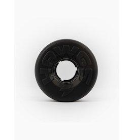 HAWGS EASY BLACK LONGBOARD WHEELS