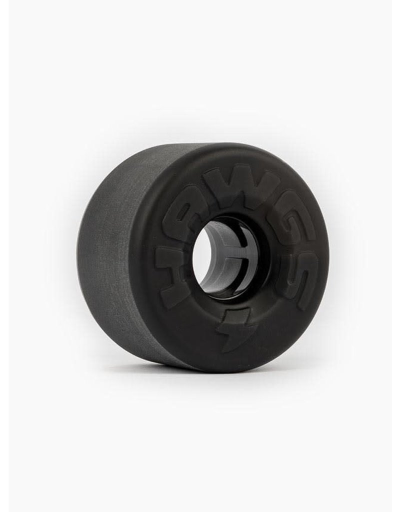 HAWGS EASY BLACK LONGBOARD WHEELS