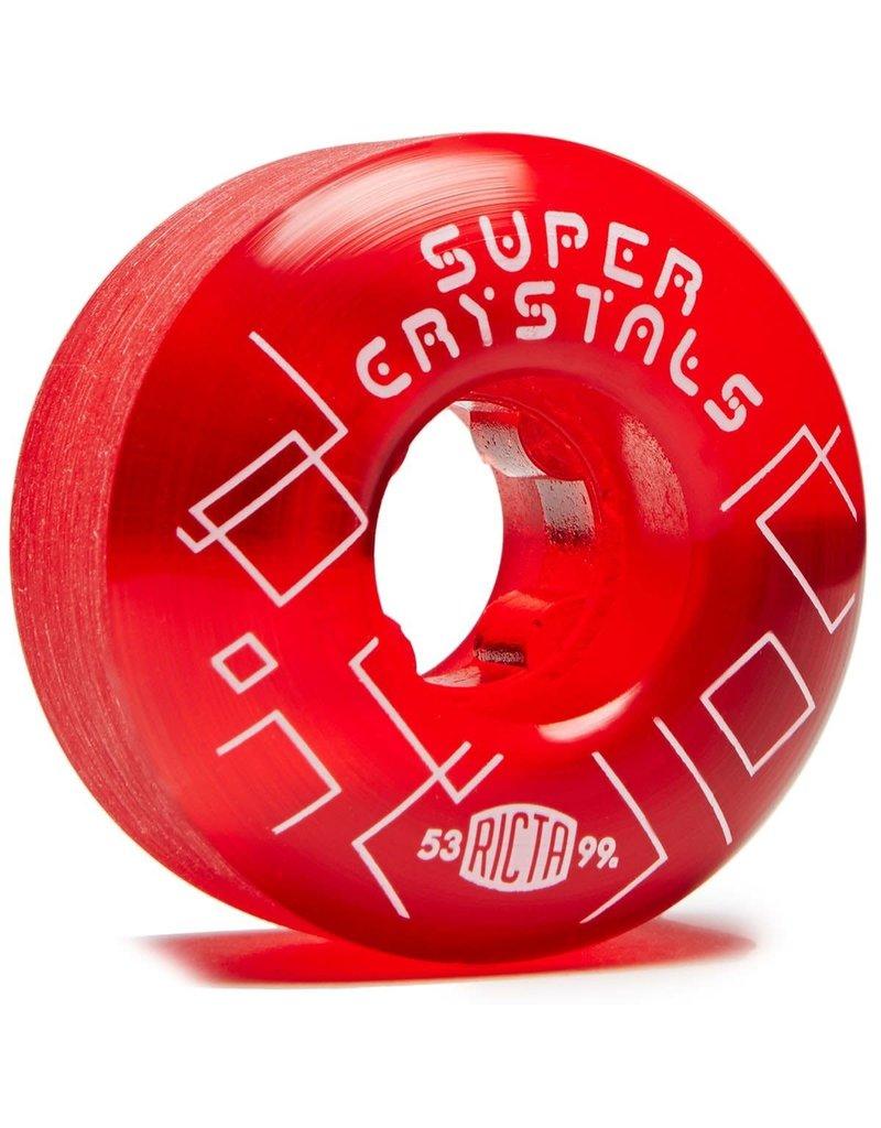RICTA SUPER CRYSTALS SKATEBOARD WHEELS