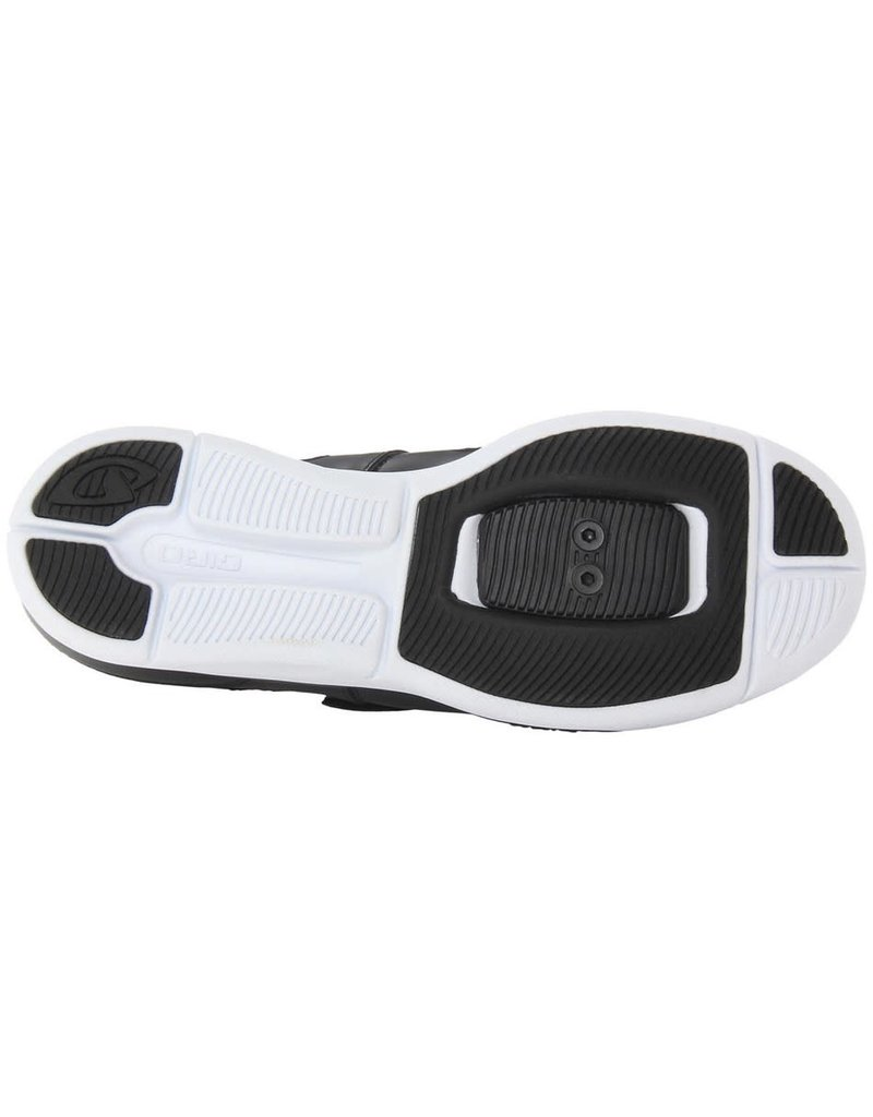 GIRO GRYND BLACK AND WHITE CYCLING SHOE