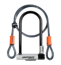 KRYPTONITE U-LOCK KRYPTOLOK STD WITH 4' FLEX CABLE