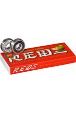 BONES BONES SUPER REDS SKATEBOARD BEARINGS