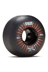 RICTA RICTA SPARX 53MM 99A BLACK SKATEBOARD WHEELS