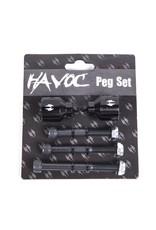 HAVOC PRO 3 AXLE PEG SET