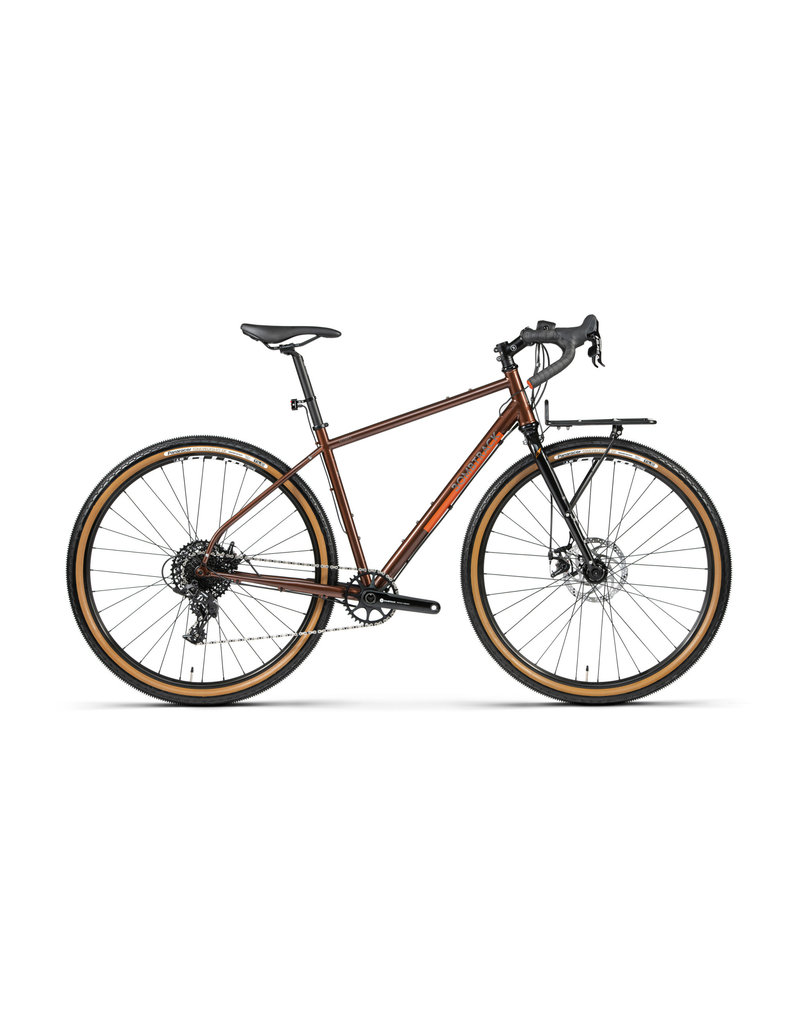 BOMBTRACK BEYOND 2 S METALLIC ROOTBEER TOURING BIKE