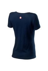 Castelli CASTELLI SARTA WOMEN'S DARK INFINITY BLUE T-SHIRT