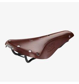 Brooks SADDLE Brooks B17 Standard - Antique Brown - Black Steel
