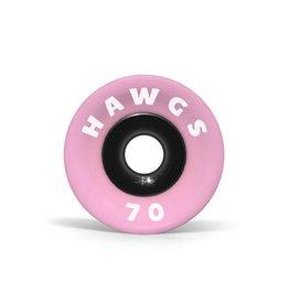 SUPREME HAWGS PINK STONE-GROUND LONGBOARD WHEELS