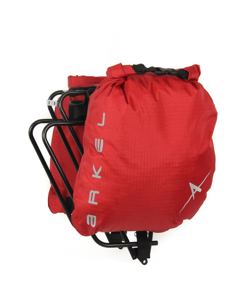 ARKEL ARKEL DRY-LITES ULTRA LIGHT SADDLE BAGS RED
