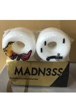 Madness MADNESS WW3 54MM WHITE SKATEBOARD WHEELS