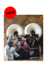 Madness MADNESS MIKE TYSON 52MM WHITE WITH SPLATTER SKATEBOARD WHEELS