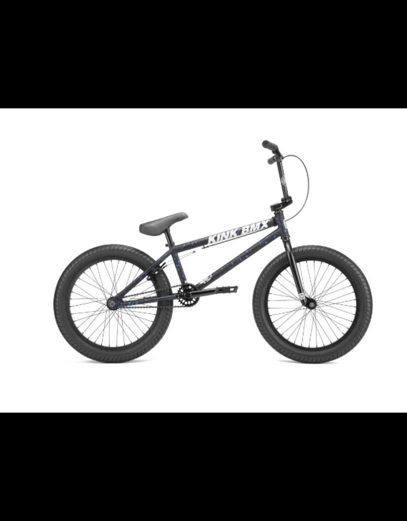 KINK BMX CURB Matte Black Metal 20 TT