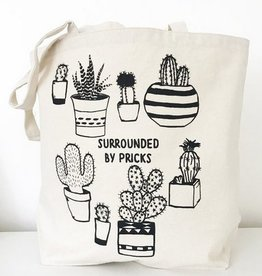 Surrounded by Pricks Tote