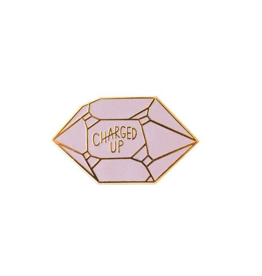 Charged Up Enamel Pin