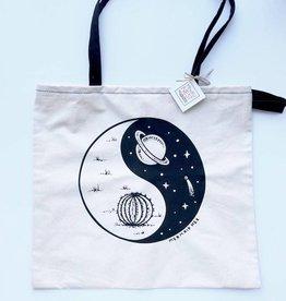Galactic Yin & Yang tote