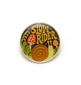 Slow Rider Enamel Pin