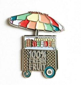 Fruit Cart Pin