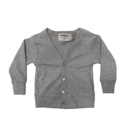 Go Gently Nation Cardigan- Heather Gray