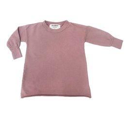 Go Gently Nation Children's Puff Sleeve Dress- Cinnamon