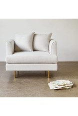 Gus Modern Margot Chair- Cambie Parchment