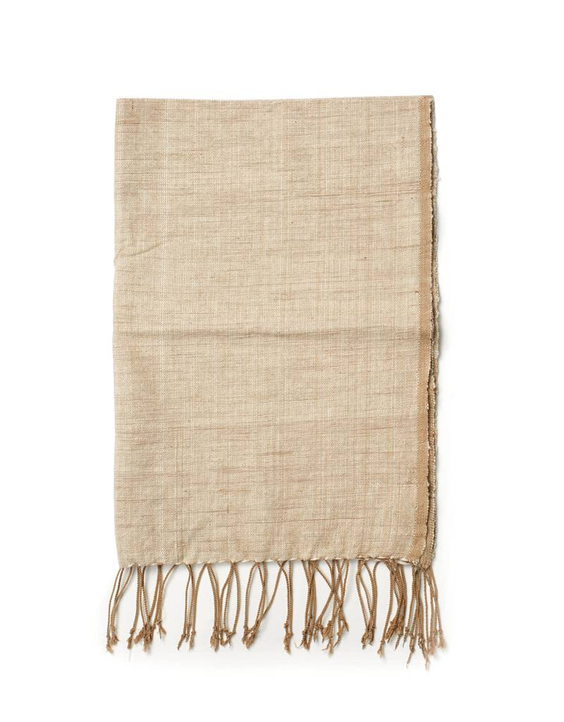 Creative Women Handwoven Hand Towel Petra Beige