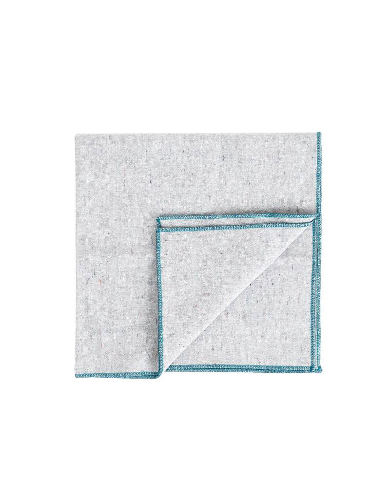 Beautiful Ingredient Heathered Gray Napkin Set/4-Shore Pine