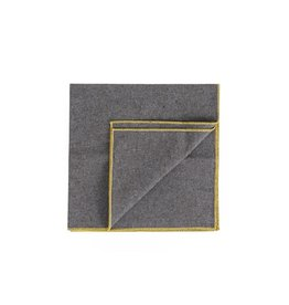 Beautiful Ingredient Heather Granite Napkin Set/4-Pollen Yellow