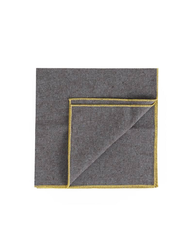 Beautiful Ingredient Heather Granite Napkin Set/4-Pollen Yellow