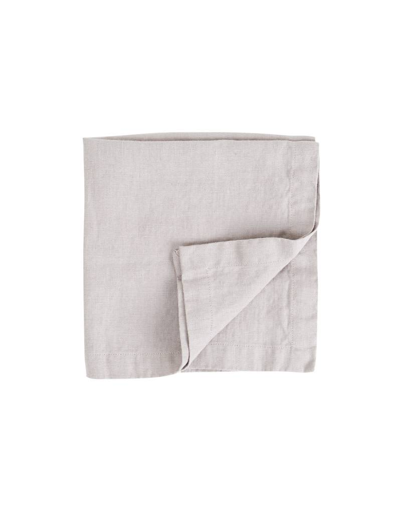 Not Perfect Linen Lavender Grey Linen Napkins