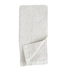 Morihata Lattice Hand Towel- Ice Gray