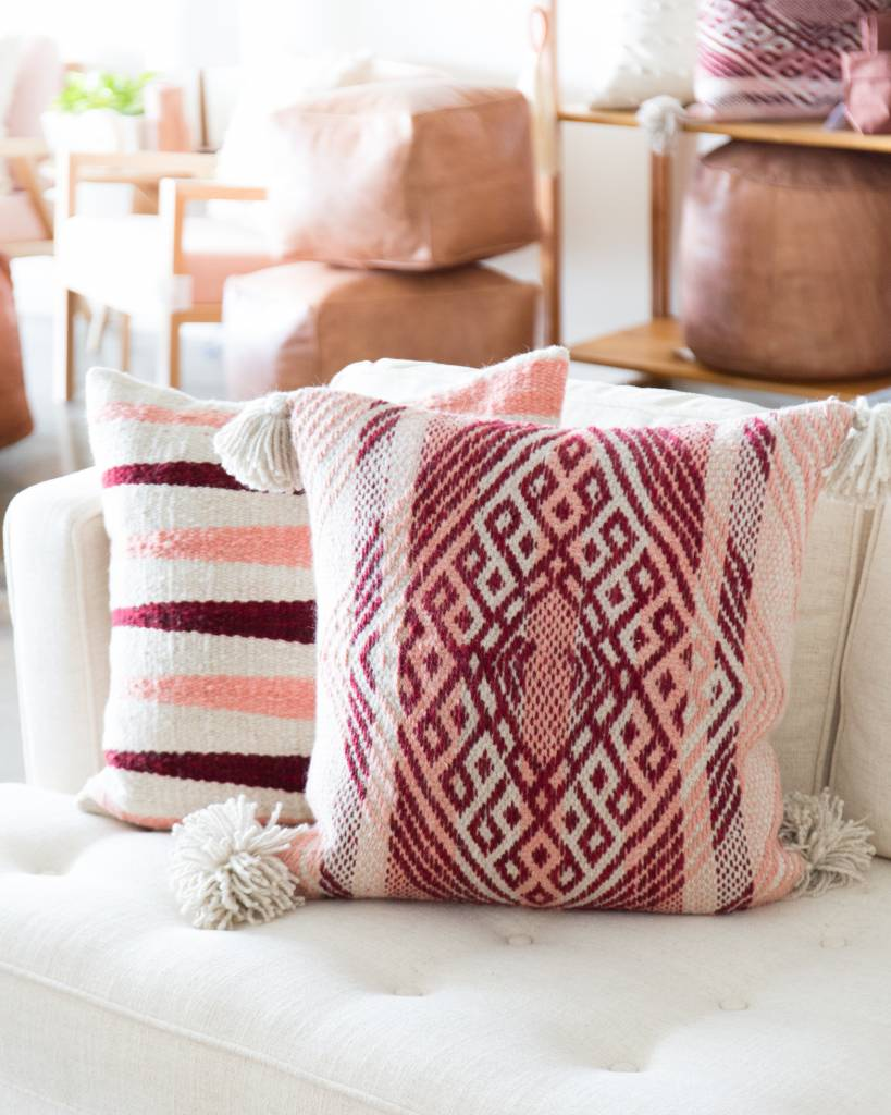 Coral Pallay Pillow