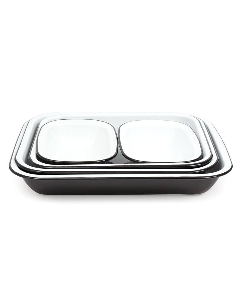 Falcon Enamelware Bake Set-Coal Black