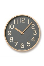Lemnos Thomson Paper Clock- Gray