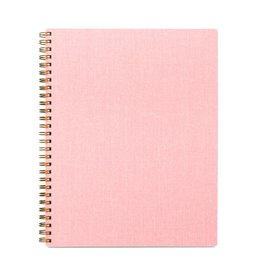 Appointed Notebook- Blossom Pink, Grid