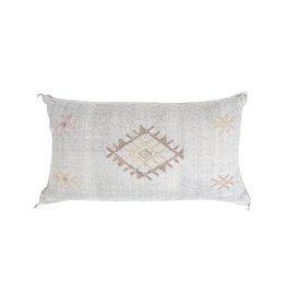 "Bryar Wolf Viola Lumbar Pillow- 20"" X 38"""