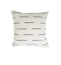 "Territory Design Cream Flecha Wool Pillow 20"" x 20"""