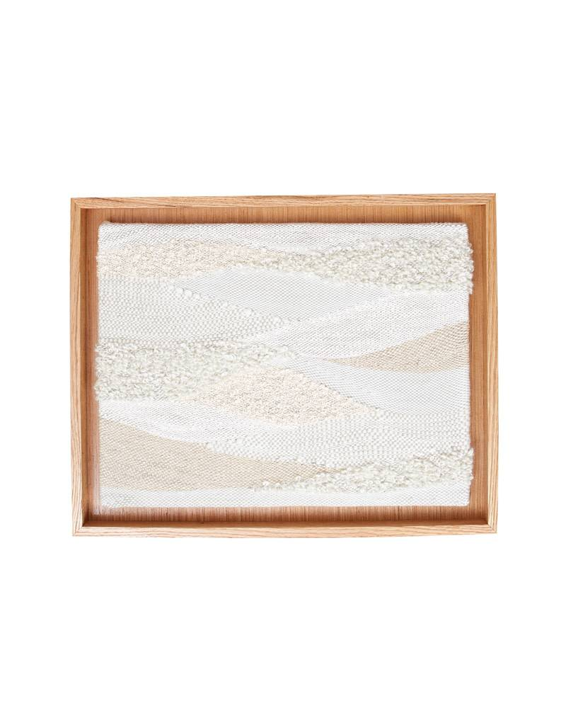 MJL Fiber Designs Handwoven Framed Wall Hanging- Finney