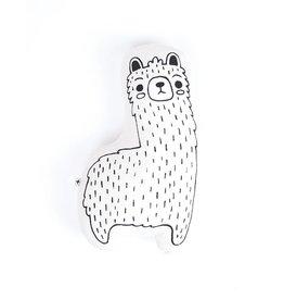 Imani Collective Llama Animal Pillow- Medium