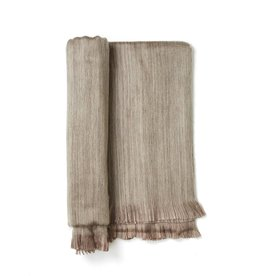Driftwood Fringed Alpaca Throw