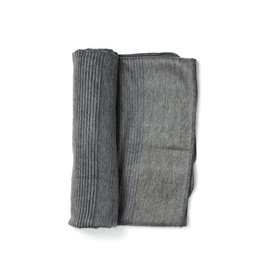 Charcoal Alpaca Throw