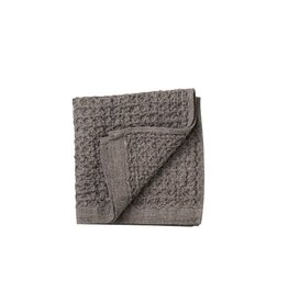 Morihata Gray Brown Lattice Washcloth