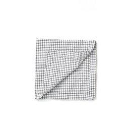 Not Perfect Linen Small Checks Linen Napkins