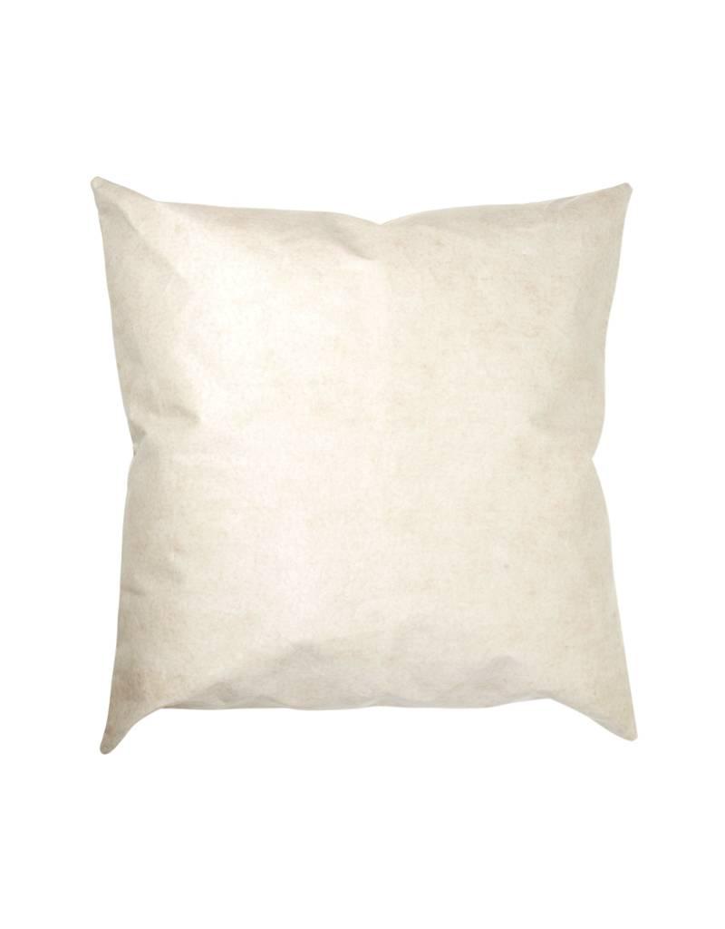 Uashmama Cachemire White Washable Paper Floor Cushion